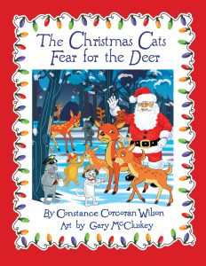 The Christmas Cats Fear for the Deer (Book #4 in The Christmas Cats series, www.TheXmasCats.com)