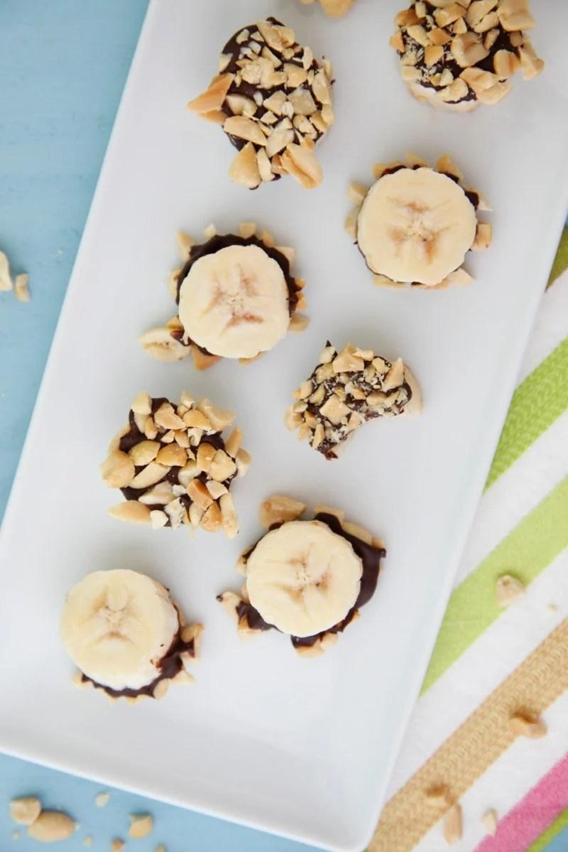 Chocolate Banana Bites from weelicious.com