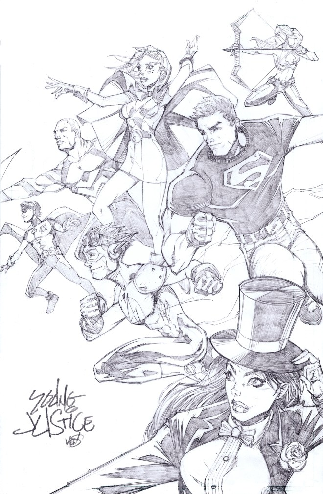 YoungJustice_Pencils_WEGJART
