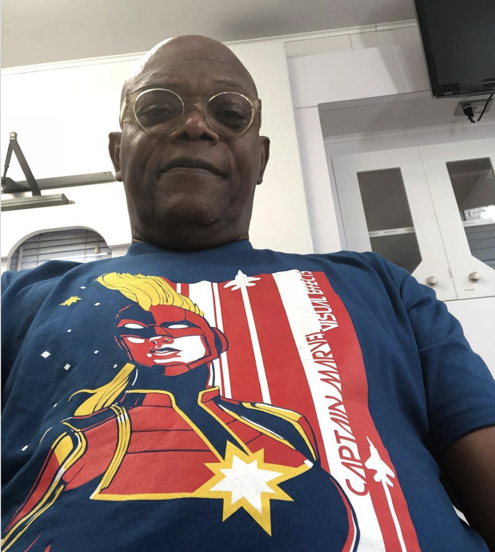 Samuel L  Jackson May Have Just Confirmed That Captain Marvel Will     MORE FROM THE WEB