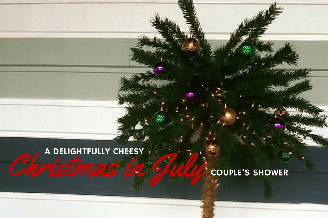 Christmas in July Shower: We Heart ATL