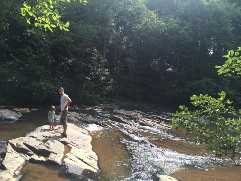 sope creek trail hiking in atlanta