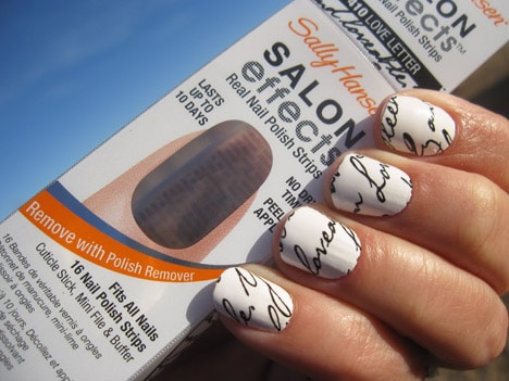 SallyHansenLove3 The perfect Valentines Day manicure via Sally Hansen