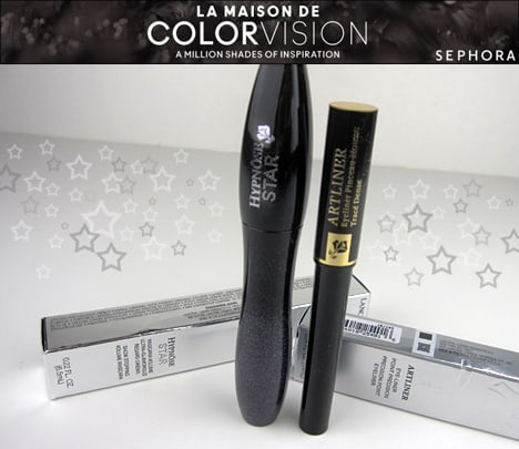 Lancome0812 intro Lancôme Hypnôse Star Mascara and ARTLINER Precision Point Eyeliner review, photos & swatches