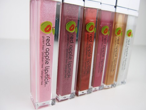 RedApple3 Red Apple Gluten Free Lipstick & Lip Gloss Review
