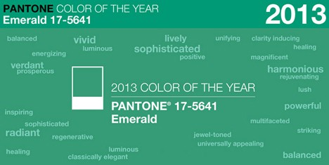 pantone 2013 coty How to Wear Pantones Color of the Year: Emerald