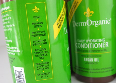 DermOrganicC DermOrganic Argan Oil Hair Collection Review