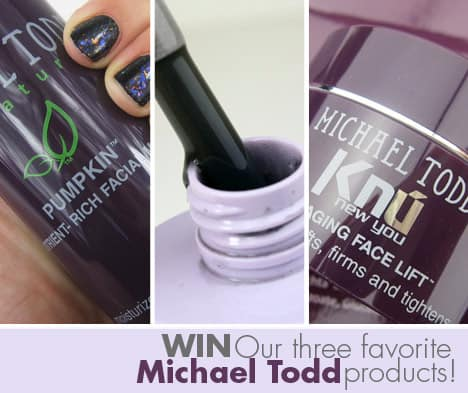 MichaelToddgiveaway WIN our 3 favorite Michael Todd products   the $208 worth of awesome giveaway!