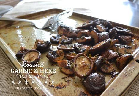 Mushroom Medley Roasted Garlic & Herb Mushroom Medley Recipe