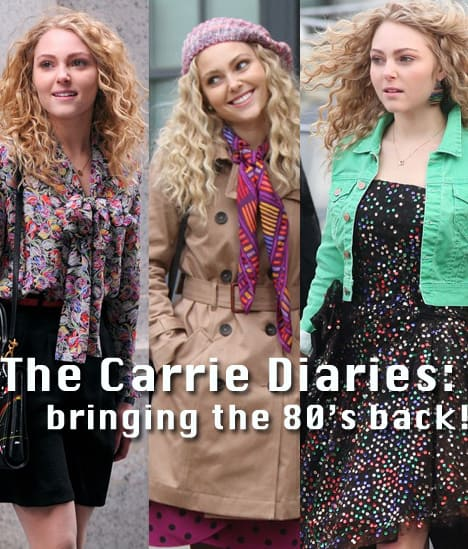 WHT Carrie Back to the 80s! The Top 8 Fashion Picks Inspired by The Carrie Diaries