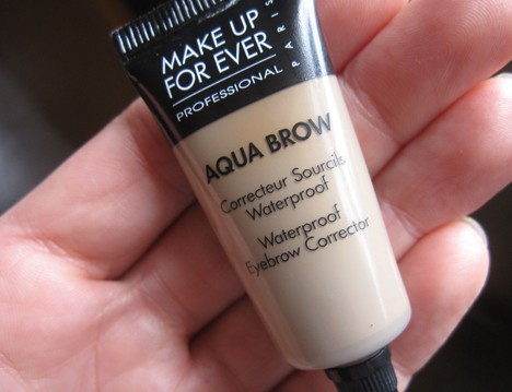 MUFEaquabrow How to apply MAKE UP FOR EVER Aqua Brow
