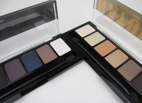 NYXNatSmok1 NYX  Natural Eyeshadow Palette and Smokey Eyeshadow Palette   swatches and review