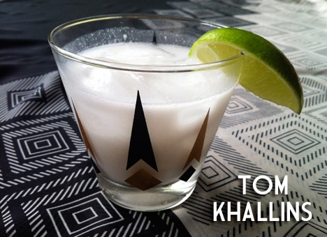 TomKhallins1 Cocktail of the Month   Tom Khallins