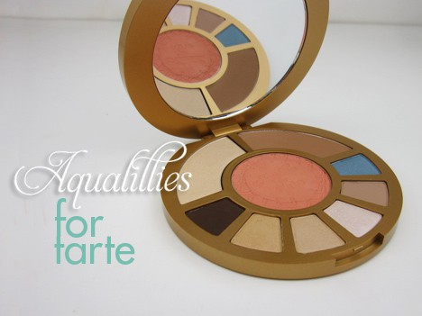 tarte aqualillies palette