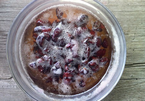 cherry vanilla shrub recipe