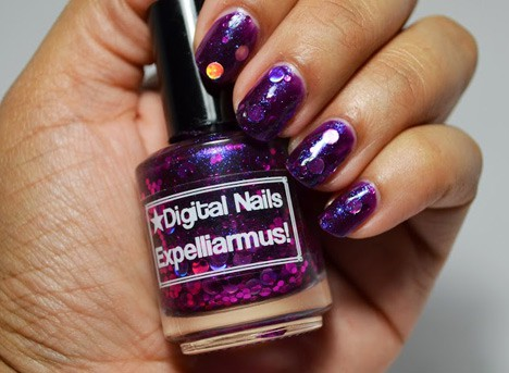 Digital Nails Expelliarmus swatch