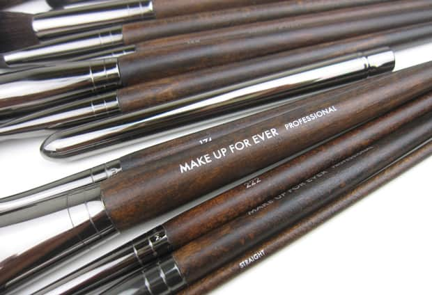 MUFE brushes feature MAKE UP FOR EVER Artisan Brush Collection   a look at 15 of the new brushes