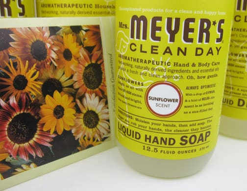 Mrs Meyers Sunflower 2 Mrs. Meyers Sunflower Products Review