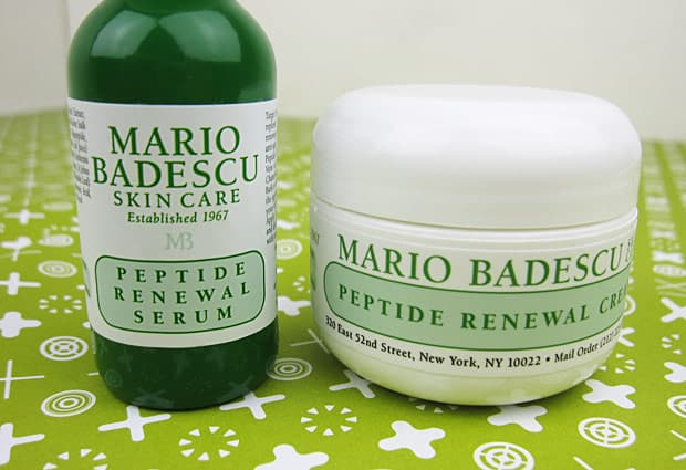 Mario Badescu Peptide 1 Mario Badescu Peptide Renewal Cream and Serum   Photos and Review