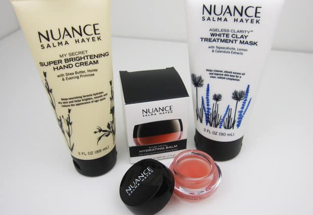Nuance Super Brightening Hand Cream 1 Nuance Salma Hayek: Top Three Must Haves