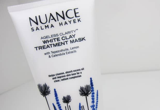 Nuance white clay treatment mask 1 Nuance Salma Hayek: Top Three Must Haves