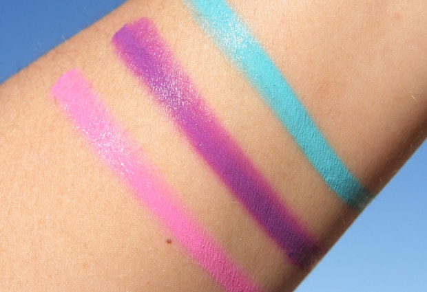 OCC Plastic Passion 5 lip tar swatches OCC Plastic Passion   Swatches and Review