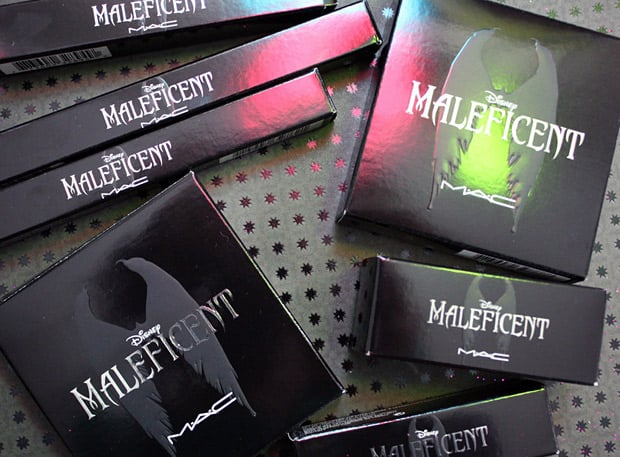 MAC Maleficent 19 packaging  Even a heroine could be tempted by the MAC Maleficent collection!