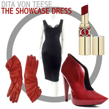 Vintage Lookbook: Dita Von Teese's Showcase Dress