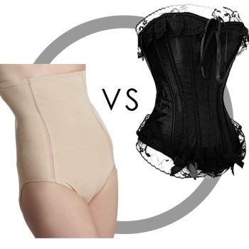 Corsets vs Spanx (or lace, corsets and boning Oh My!)