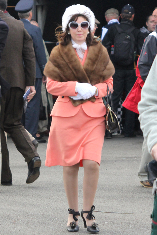 1950s outfit for Goodwood Revival