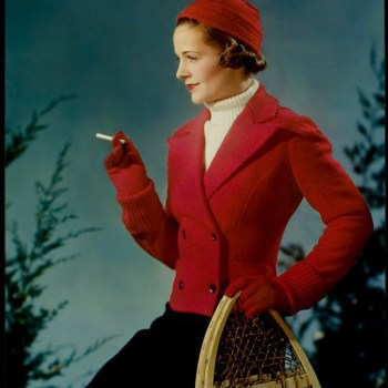 1930s Lucky Strike advert