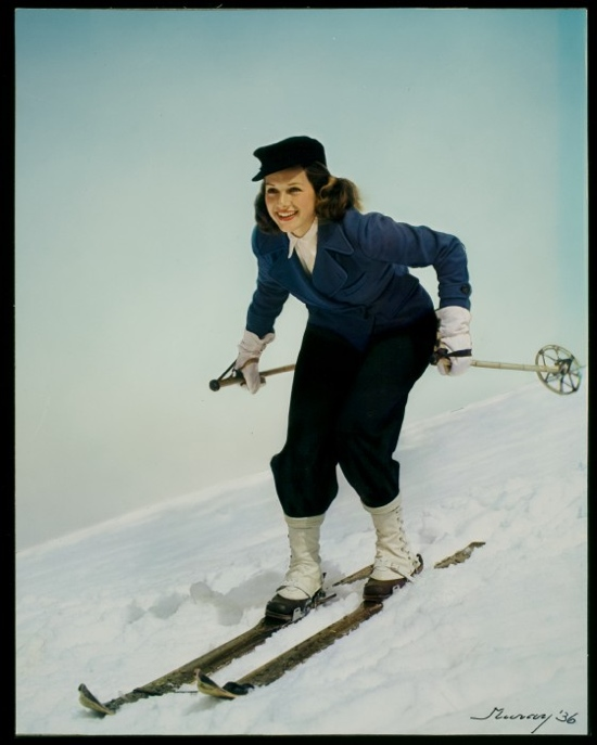 1930s skiing fashions