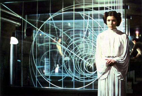 Princess Leia's dress