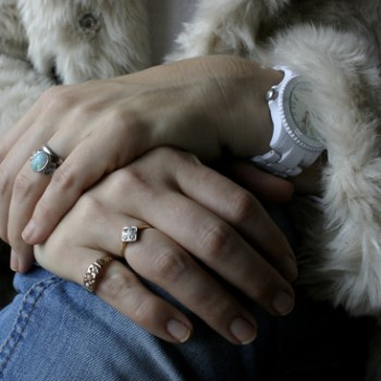 My Vintage Style: A Tale of 2 Vintage Engagement Rings