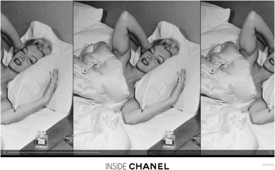 Inside Chanel No.5 Marilyn Monroe