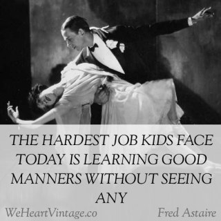Quotes: Fred Astaire on kids today