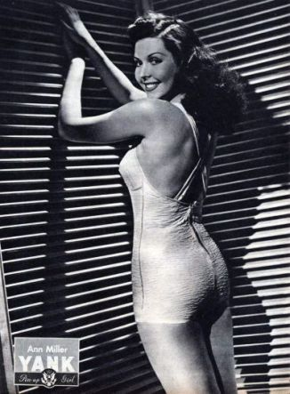 Ann Miller WWII pin up for YANK Magazine