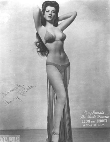 WWII pin up photo of Sherry Britton