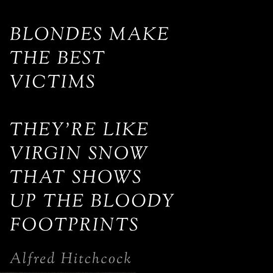 Hitchcock quote