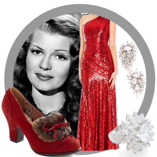 Vintage Look Book: Rita Hayworth in Red