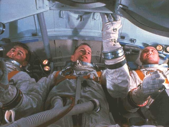 1960s NASA: Apollo 1 crew in training