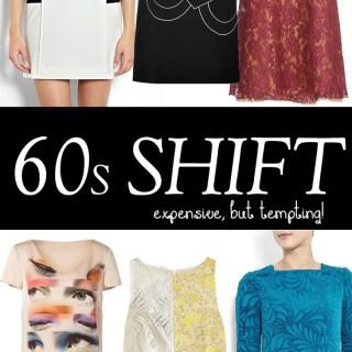 My top 12 sixties shift dresses: designer vs high-street