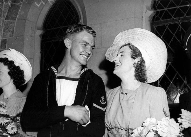 1940s wedding