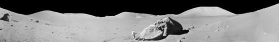 Lunar panorama