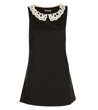Shayla Tunic in Black & White