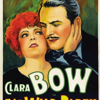 1920s movie poster: Clara Bow in The Wild Party