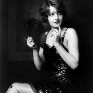 Barbara Stanwyck when she was in the Ziegfeld Follies