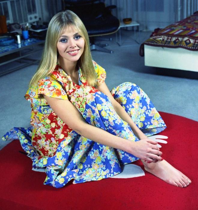 Britt Ekland in 1970s