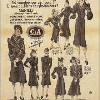 1930s fur advert