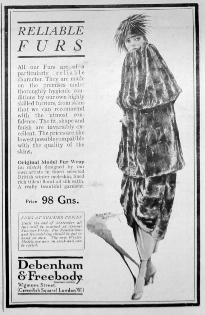 1920s fur coats